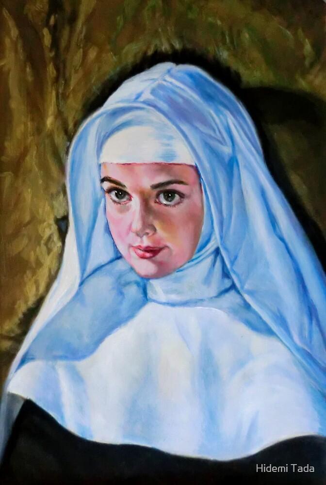 a beautiful nun by Hidemi Tada