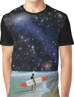 Surfer on Horizon Graphic T-Shirt