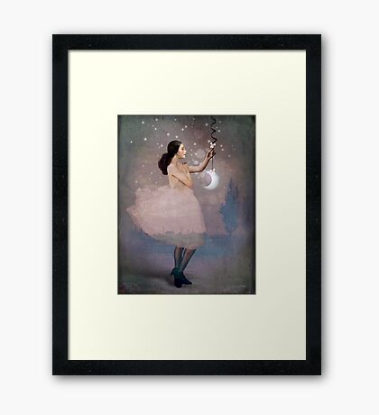 The Magic ribbon Framed Print