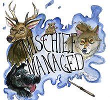 Mischief Managed by FiendishArt