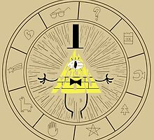 Bill cipher by geekartistry