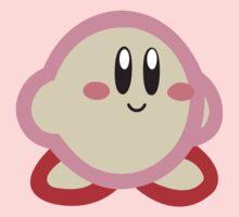 Kirby minimalist Kids Tee