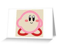 Kirby minimalist Greeting Card
