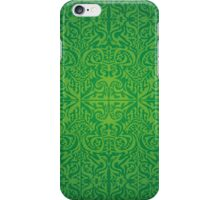 Etnic Pattern Green iPhone Case/Skin
