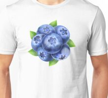 Design element with blueberries Unisex T-Shirt