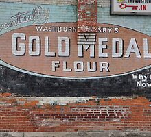 Gold Medal Flour Wall  by mltrue