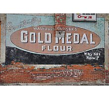 Gold Medal Flour Wall  Photographic Print