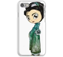 Frosted Spring Geisha iPhone Case/Skin