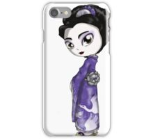 Heavenly Crane Geisha II iPhone Case/Skin