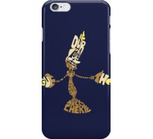 Be our guest iPhone Case/Skin