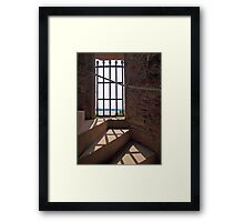 Shadow on the Steps Framed Print