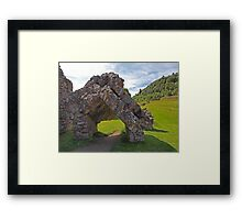 Part of the Gatehouse Framed Print