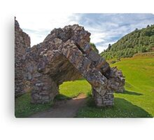Part of the Gatehouse Canvas Print