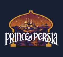 Prince of Persia Pixel Style- Retro DOS game fan items Kids Clothes