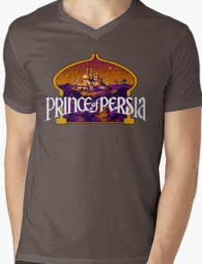 Prince of Persia Pixel Style- Retro DOS game fan items Mens V-Neck T-Shirt