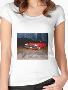 Plymouth fury 1958 Women's Fitted Scoop T-Shirt