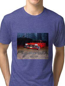 Plymouth fury 1958 Tri-blend T-Shirt