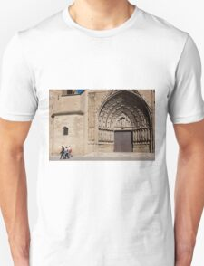 Cathedral of Huesca, Aragon, Spain  Unisex T-Shirt