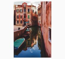 Impressions of Venice - Wandering Around the Small Canals One Piece - Long Sleeve