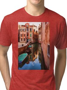 Impressions of Venice - Wandering Around the Small Canals Tri-blend T-Shirt