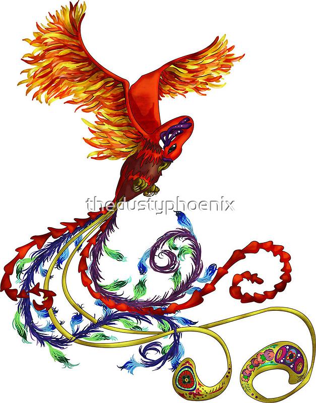 New Phoenix by thedustyphoenix