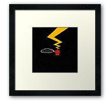 ...It wa a dark and stormy night.. Framed Print