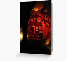 Pumpkin Glow Greeting Card