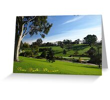 Civic Park, Drouin, Gippsland  Greeting Card