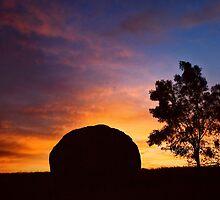 Ulandra Reserve Sunrise #2 by Rosalie Dale