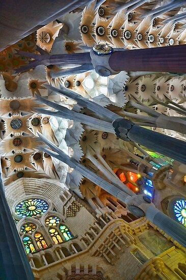 Basílica de la Sagrada Família - Gaudi by Wendy  Rauw