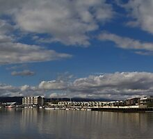 Seaport Harbour, Launceston, Tasmania by Paul Gilbert