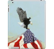 the flight (vintage americana) iPad Case/Skin