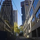 Guilford Lane - Melbourne CBD by Colin  Ewington