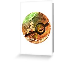 Arceus | Pokeball Art Greeting Card