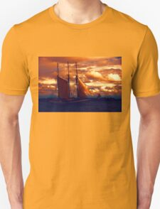 Tallship - Moody Blues and Powerful Oranges T-Shirt