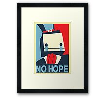 No Hope Framed Print