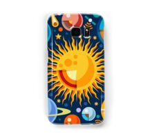 Solar System Infographics Samsung Galaxy Case/Skin