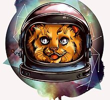 Space Kitty will boldly go.... by headpossum