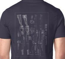 303  Lee Enfield Rifle Blueprint  Unisex T-Shirt
