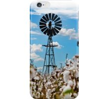 Cotton Pickin' - Near Toowoomba Qld Australia iPhone Case/Skin