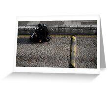 Macau Moped Greeting Card