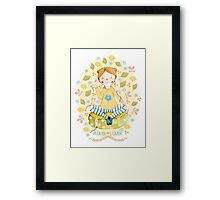 Mouse Lover Framed Print
