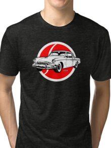 Studebaker President emblem and illustration Tri-blend T-Shirt
