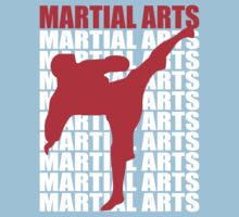 Martial Arts Kids Tee