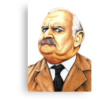 Open all hours - Ronnie Barker plays Arkwright Canvas Print