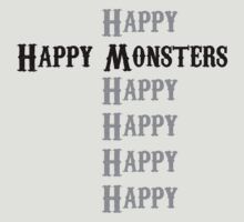 Happy Monsters by Artmassage