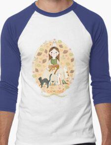 Cat Lover Men's Baseball ¾ T-Shirt