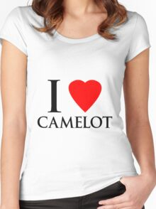 I Heart Camelot Women's Fitted Scoop T-Shirt