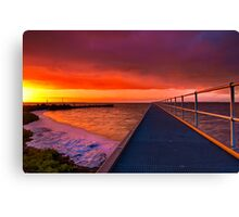 """Swan Bay Dawn"" Canvas Print"