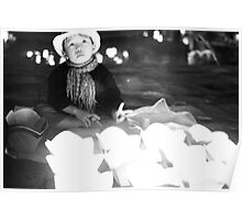 Lantern sales-boy Poster